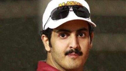 Sheikh Khaled, brother of Qatar's Emir, is accused of murder. Photo courtesy of Arab News