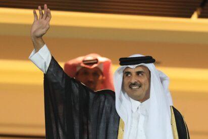Qatar Emir Tamim Al-Thani Courtesy of the Arab News Newspaper