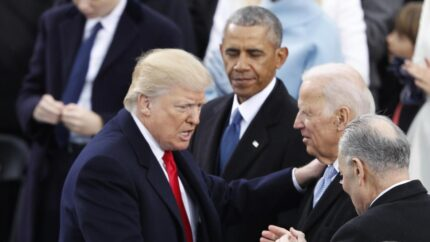 Trump Obama Biden 2016 Reuters courtesy of the Arab News newspaper